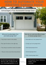 How to Automate Your Existing Garage Door