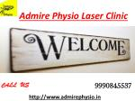 Manipulative physiotherapy clinic in noida