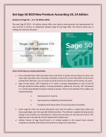 Get Sage 50 2019 New Premium Accounting US, CA Edition