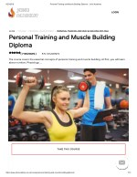 Personal Training and Muscle Building Diploma - John Academy