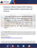 Tonometer Market - Industry Analysis, Size, Share, Growth, Trends, and Forecasts 2025
