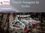 Best Hangers manufacturers in India | Plastic hangers in India
