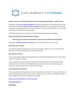 Celebrity Prime Eco Front Villas and Benefits of Purchasing Apartment Buildings – Celebrity Prime