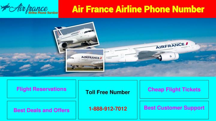 PPT - Air France Airlines Phone Number PowerPoint Presentation - ID