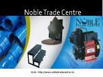 Order high graded Ductile Iron Pipes from Noble Trade Centre