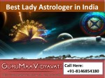 Best Lady Astrologer in India