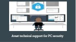 Avast technical support for desktop security