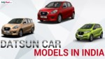 Datsun Car Models in India | SAGMart