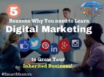 5 Ultimate reasons to learn digital marketing & grow your business!