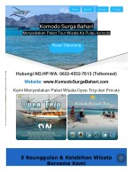 No.HP/WA:0822-4552-7613 | OPEN TRIP FLORES 2018