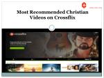 Most Recommended Christian Videos – Crossflix