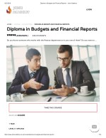 Diploma in Budgets and Financial Reports - John Academy