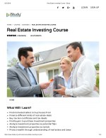 Real Estate Investing Course - istudy