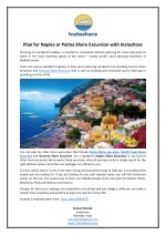 Plan for Naples or Palma Shore Excursion with Instashore