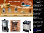 Buy Reliable Wood Fired Sauna Heaters