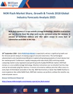 NOR Flash Market Share, Growth & Trends 2018 Global Industry Forecasts Analysis 2025