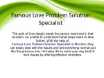 Famous love problem solution specialist in mumbai