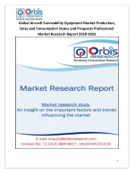 2018-2023 Global and Regional Aircraft Survivability Equipment Industry Production, Sales and Consumption Status and Pro