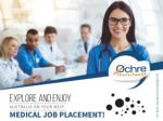 Ochre Recruitment - Trusted Agency for Medical Jobs In Australia