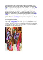 long blouse designs for sarees
