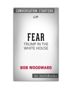 [PDF] Free Download Fear: Trump in the White House by Bob Woodward: Conversation Starters By Daily Books
