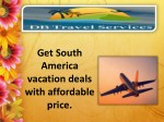 Honeymoon package specials with DB travel.