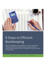 8 Steps to Efficient Bookkeeping