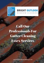 Call our Professionals for Gutter Cleaning Essex Services