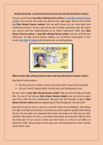 Driving License Tips - Learn How You Can Pass Your Test and Get Your Driver's License!
