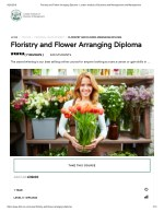 Floristry and Flower Arranging Diploma - LIBM