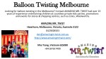 Balloon Twisting Melbourne