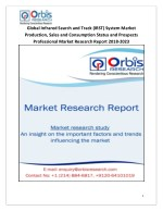 2018-2023 Global and Regional Infrared Search and Track (IRST) System Industry Production, Sales and Consumption Status