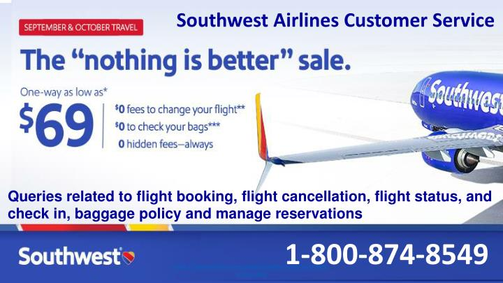 southwest airlines customer service n.