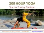 200 Hour Yoga Teacher Training In Rishikesh - Rishikesh Adiyogi