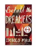 Read Online and Download Behold the Dreamers (Oprah's Book Club) By Imbolo Mbue
