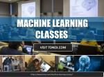 Advanced Machine Learning Classes
