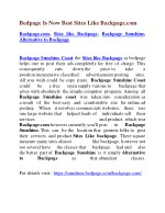 Bedpage Is Now Best Sites Like Backpage.com