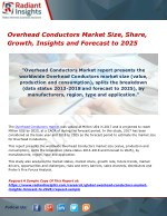 Overhead Conductors Market Size, Share, Growth, Insights and Forecast to 2025