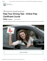 Pass Your Driving Test - LIBM