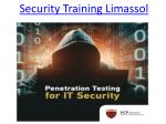 Security Training Limassol