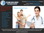 Clinics Email List | Clinics Email List Marketing Lists