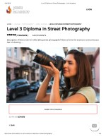 Level 3 Diploma in Street Photography - John Academy