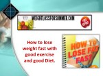 The Best diet for weight loss by weight loss summer