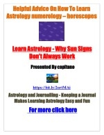 Helpful advice on how to learn astrology numerology and horoscopes