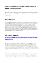 Operational Amplifier (OP-AMP) Market Trend, Segmentation and Growth Factors till 2023