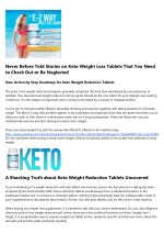 11 Ways To Completely Ruin Your Keto Weight Loss Pills Review Vancouver