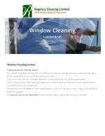 Window Cleaning Services in London By Regency Cleaning Limited