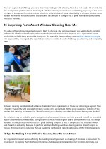 Cleaning Exterior House Windows: All The Stats, Facts, And Data You'll Ever Need To Know