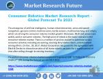 Consumer Robotics Market: Recent Market Trends and Projected Market Size by 2018 – 2023