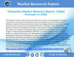 Telematics Market 2018 Comprehensive Research Study and Strong Growth in Future 2023